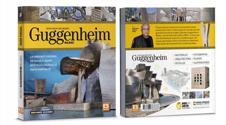Portada Contraportada Guggenheim Bilbao Libro Español Dosde Publishing