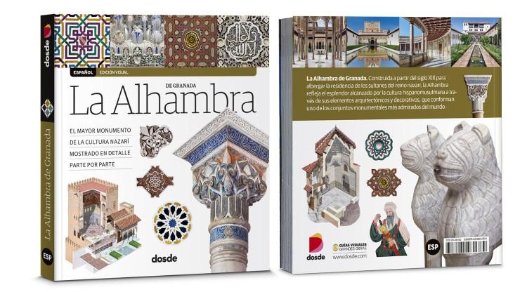 Portada Contraportada Alhambra Granada Libro Español Dosde