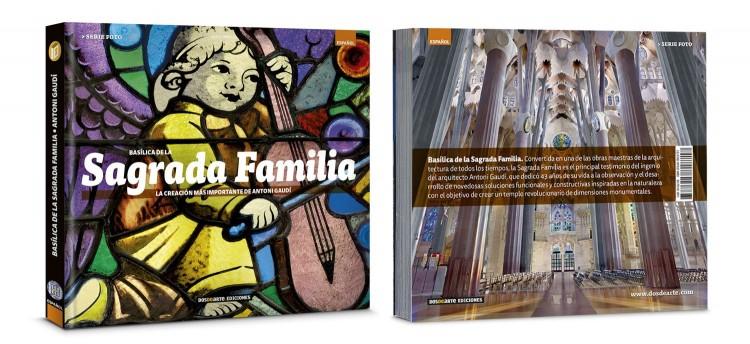 Portada Contraportada Basilica Sagrada Familia Gaudi Libro Fotografico Español Edicion Foto Dosde Publishing