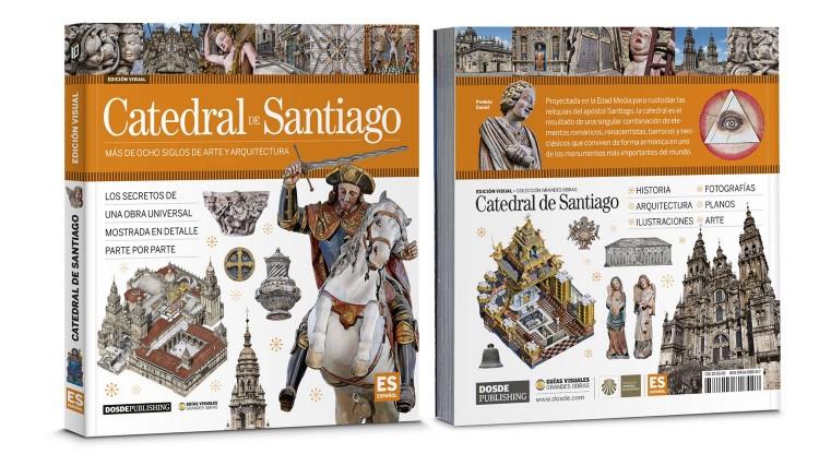 Portada Contraportada Catedral De Santiago Compostela Libro Español Dosde Publishing