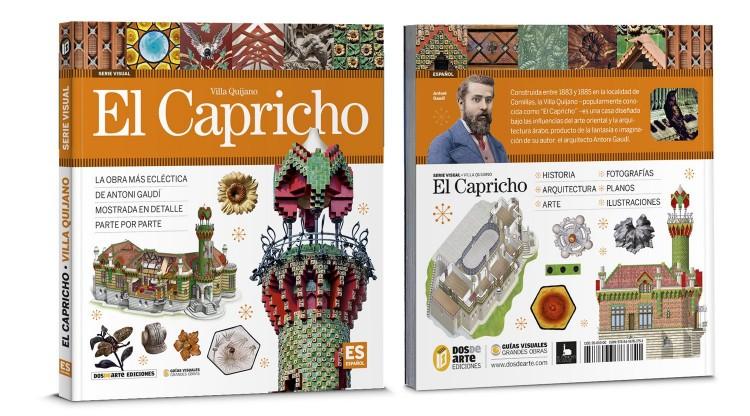 Portada Contraportada El Capricho Villa Quijano Libro Español Dosde Publishing