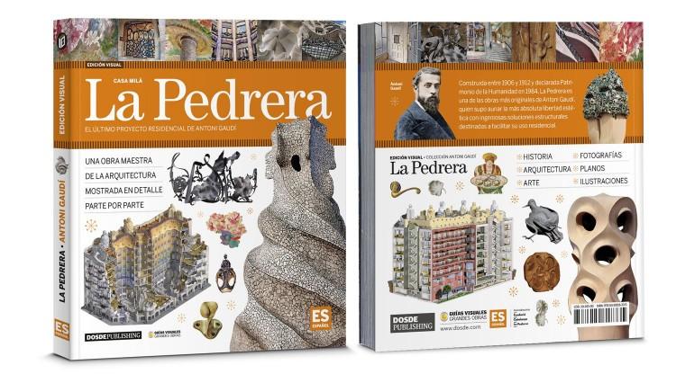 Portada Contraportada La Pedrera Casa Mila Gaudi Libro Español Dosde Publishing