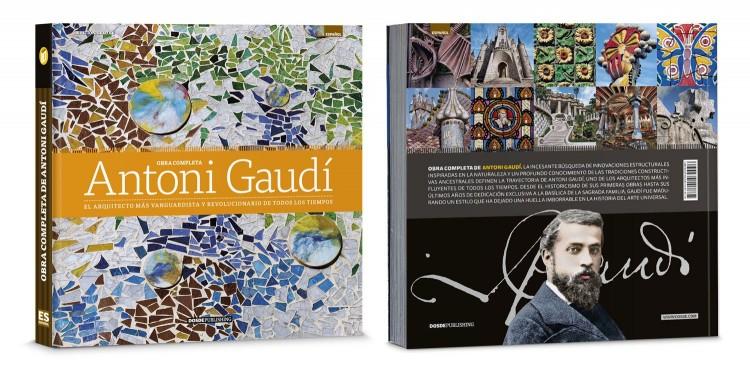 Portada Contraportada Libro Antoni Gaudi Obra Completa Edicion Deluxe Español Dosde Publishing