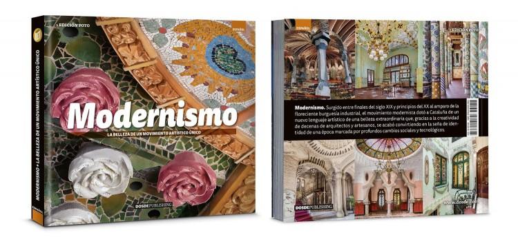 Portada Contraportada Libro Arte Modernismo Barcelona Español Dosde Publishing