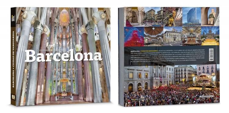 Portada Contraportada Libro Barcelona Ciudad Edicion Deluxe Español Dosde Publishing