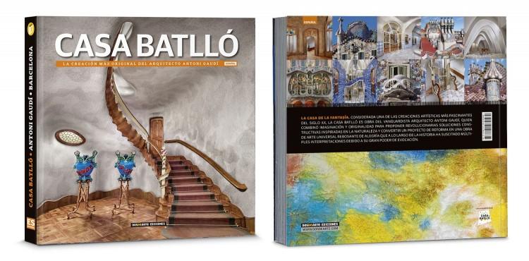 Portada Contraportada Libro Casa Batllo Gaudi Barcelona Edicion Deluxe Español Dosde Publishing