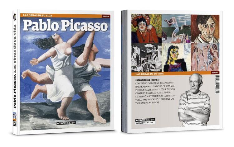 Portada Contraportada Libro Pablo Picasso Las Obras De Su Vida Arte Dosde Publishing