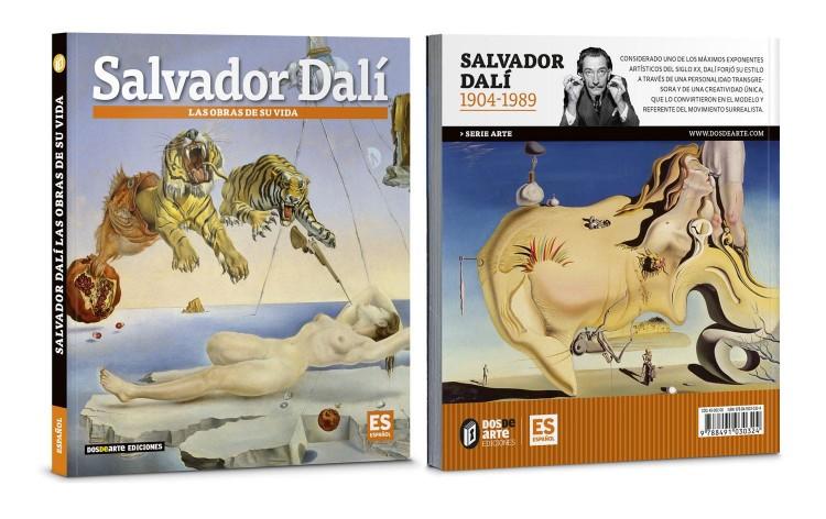 Portada Contraportada Libro Salvador Dali Las Obras De Su Vida Arte Dosde Publishing