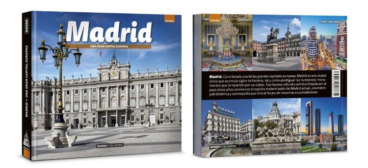 Portada Contraportada Madrid Libro Español Dosde Publishing