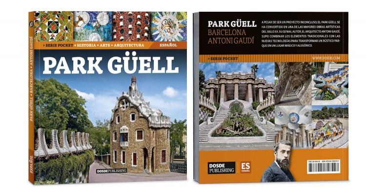 Portada Contraportada Park Guell Gaudi Libro Bolsillo Español Edicion Pocket Dosde Publishing