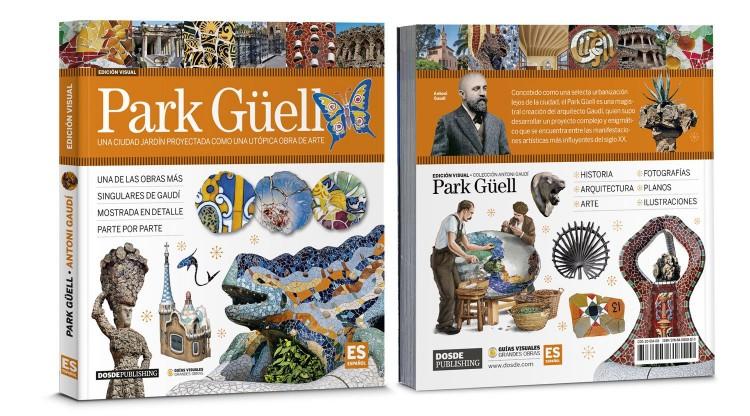Portada Contraportada Park Guell Gaudi Libro Español Dosde Publishing