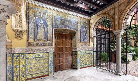 Casa Guardiola Sevilla Dosde Publishing Libro Azulejos Andaluces