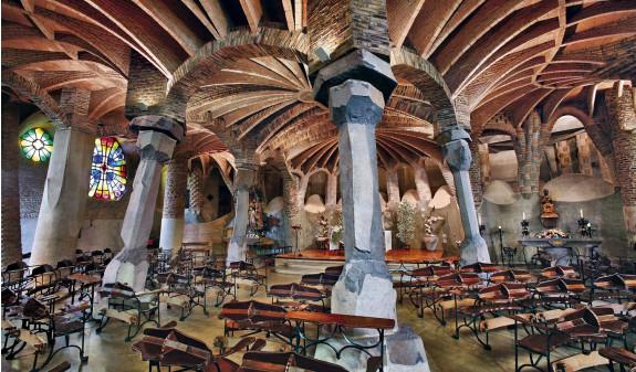 Antoni Gaudi Cripta Colonia Guell Dosde Publishing
