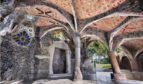 Antoni Gaudi Cripta Guell Dosde Publishing