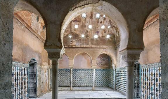 Baño Musulman Alhambra De Granada Libro Dosde Publishing