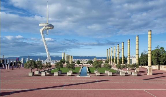 Barcelona Anella Vila Olimpica Dosde Publishing