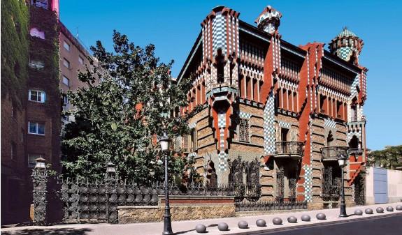 Casa Vicens Antoni Gaudi Libro Bolsillo Dosde Publishing