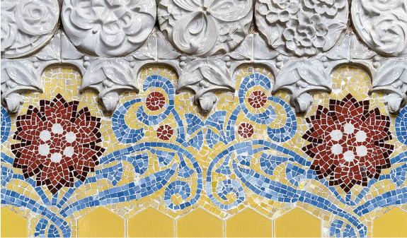 Mosaico Modernista Arte Modernismo Catalan Dosde Publishing