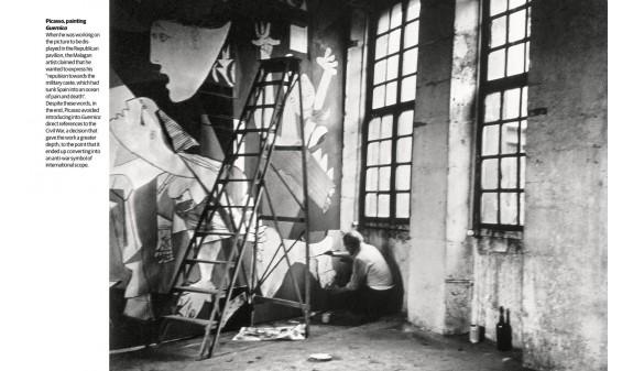 Pablo Picasso Pintando El Guernica Biografia De Picasso Dosde Publishing