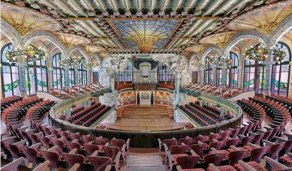 Palau De La Musica Barcelona Dosde Publishing