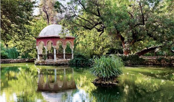 Parque Maria Luisa Sevilla Libro Dosde Publishing