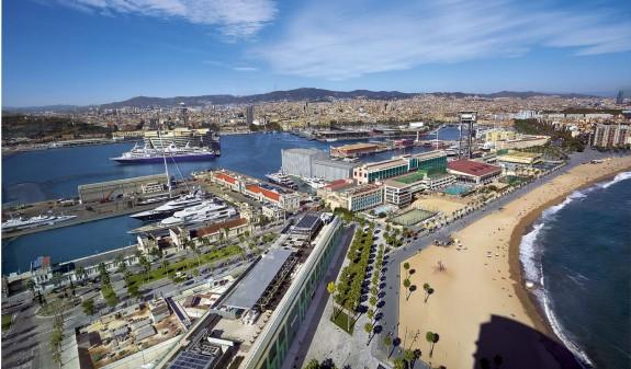 Playa Barceloneta Barcelona Dosde Publishing