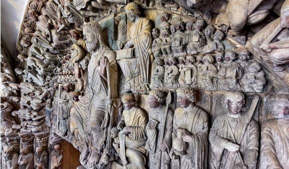 Portico De La Gloria Catedral De Santiago Compostela Dosde Publishing