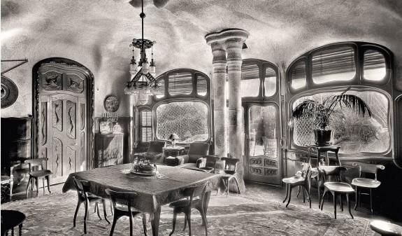 Salon Principal Casa Batllo Gaudi Fotografia Historica Barcelona Dosde Publishing