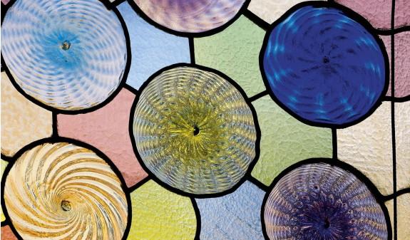Vidrieras Circulares Ventanas Casa Batllo Gaudi Dosde Publishing