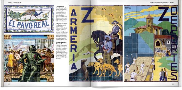 Andalusian Tilework Photo Edition English Book Dosde Publishing