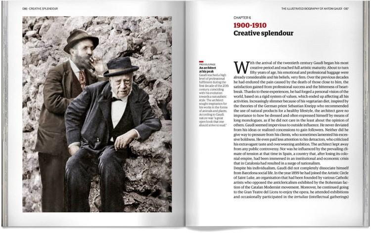 Antoni Gaudi Biography English Book Dosde Publishing