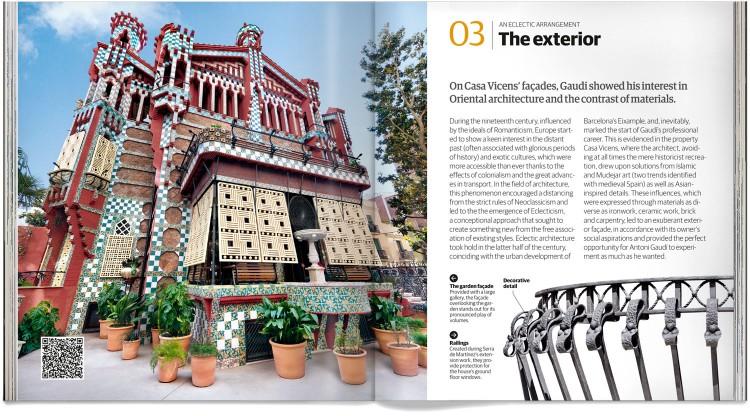 Casa Vicens Barcelona Gaudí Book English Dosde