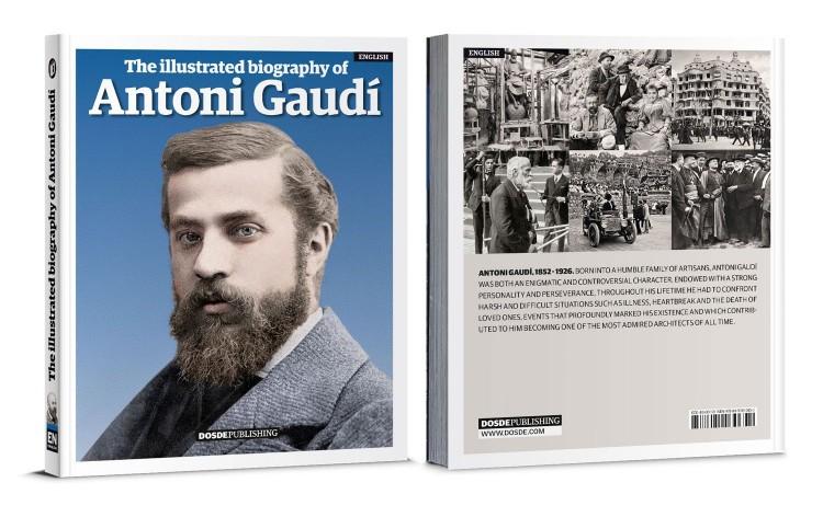 Cover Antoni Gaudi Biography English Book Dosde Publishing