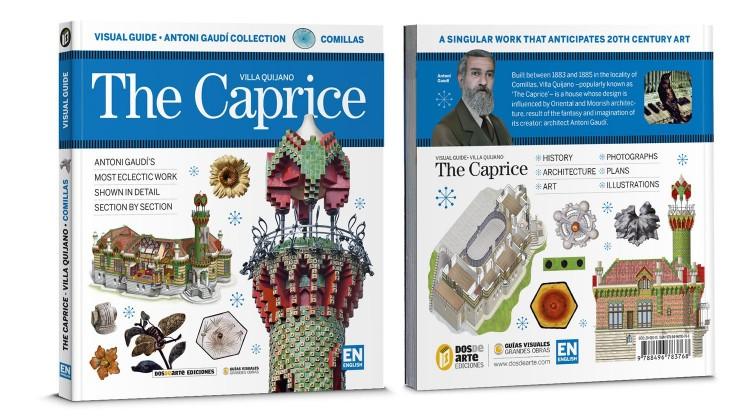 Cover Back The Caprice Villa Quijano English Book Dosde Publishing