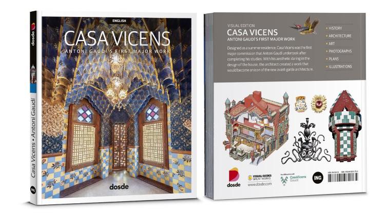 Cover Casa Vicens Barcelona Gaudí Book English Dosde