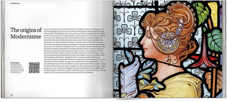 Modernisme Barcelona Art Book English Dosde Publishing