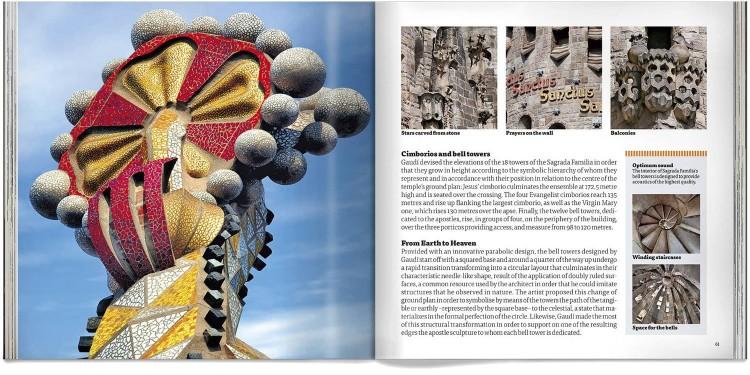 Sagrada Familia Gaudi Pocket Edition English Book Dosde Publishing