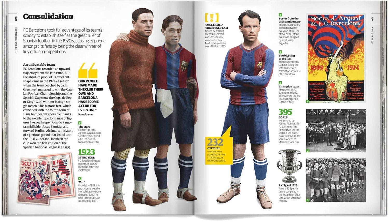 dc35b0efb29 Book Fc Barcelona Barça Illustrated History Of The Football Club