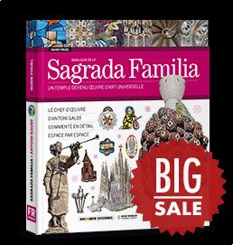 The basilica of Sagrada Familia