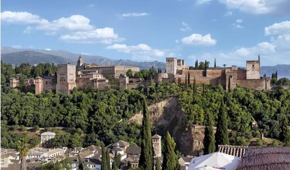 Alhambra Granada Foto Panoramica Dosde Publishing