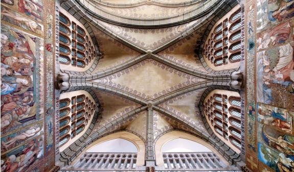 Antoni Gaudi Bovedas Techo Palacio Episcopal Astorga Dosde Publishing