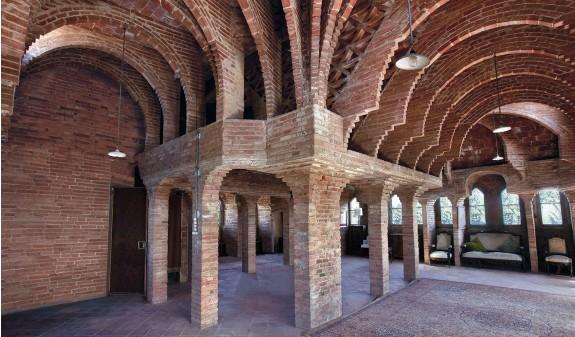 Arcos Casa Bellesguard Gaudi Dosde Publishing