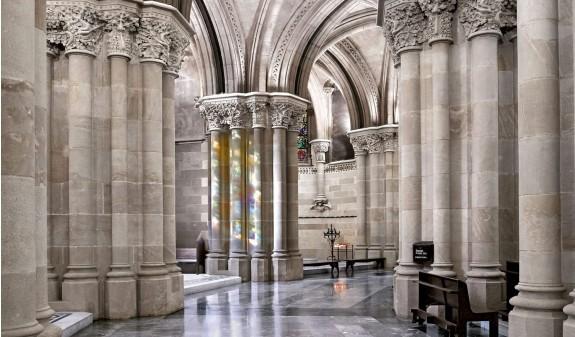 Arcos Interior Sagrada Familia Dosde Publishing