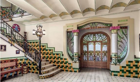 Casa Barbey La Garriga Arquitectura Modernista Modernismo Barcelona Dosde Publishing