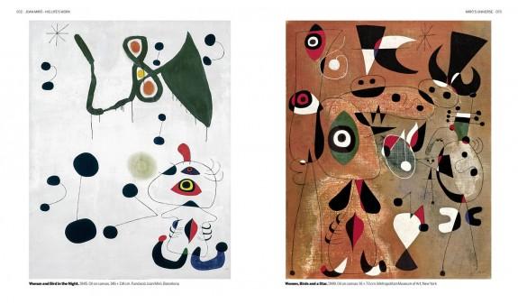 Cuadros Mujer Pajaros Joan Miro Las Obras De Su Vida Arte Dosde Publishing