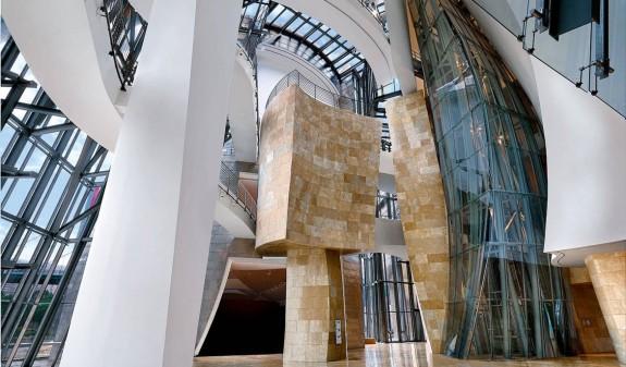 Estrcutura Interior Guggenheim Bilbao Book Dosde Publishing