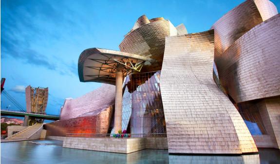 Exterior Museo Guggenheim Bilbao Dosde Publishing