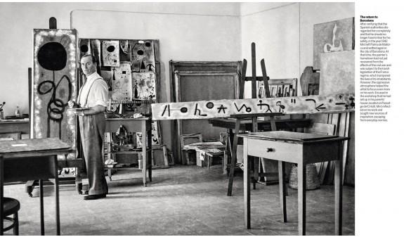 Joan Miro En Su Estudio Las Obras De Su Vida Arte Dosde Publishing
