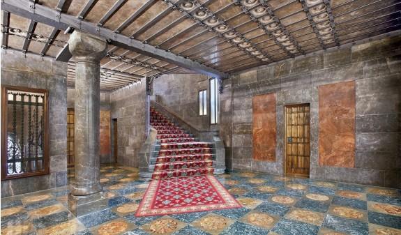 Palacio Guell Interior Dosde Publishing