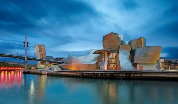 Panoramica Museo Guggenheim Bilbao Libro Dosde Publishing